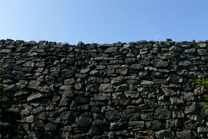 沖縄 今帰仁城跡 城壁
