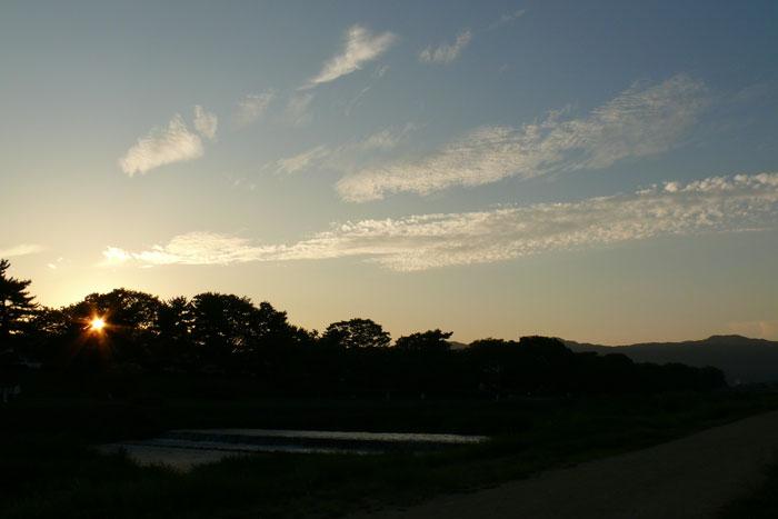 京都の河原タイム