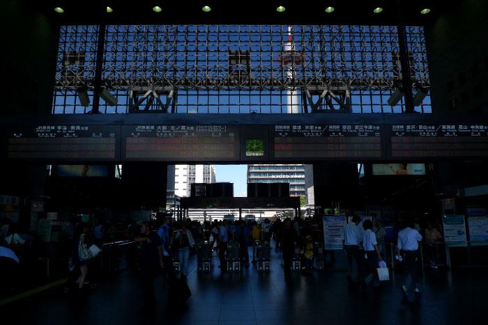 京都駅で思ふ