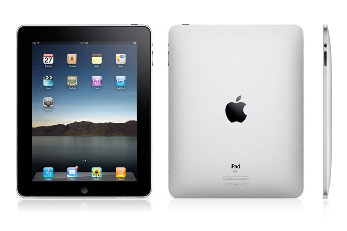 iPadだ!