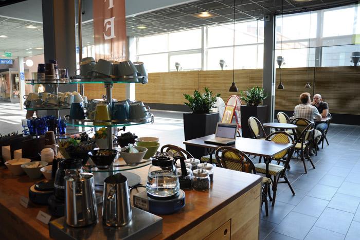 ARABIA社の中のカフェ