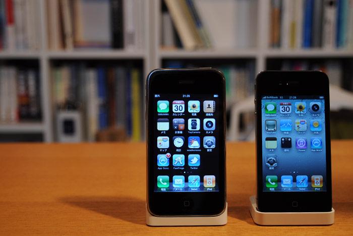 iPhone4と3G