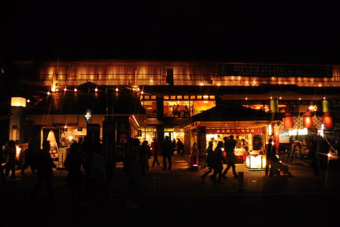 嵐山 花灯路 嵐電 嵐山駅